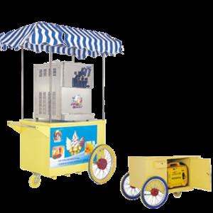 Тележка для торговли мягким мороженым