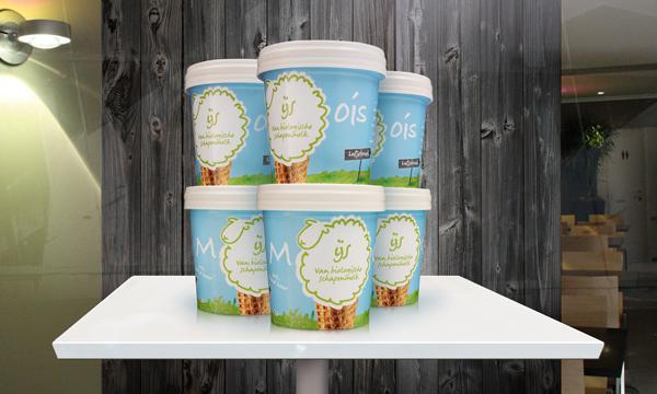 мороженое на основе овечьего молока