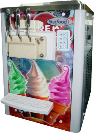 Настольный фризер для мягкого мороженого
