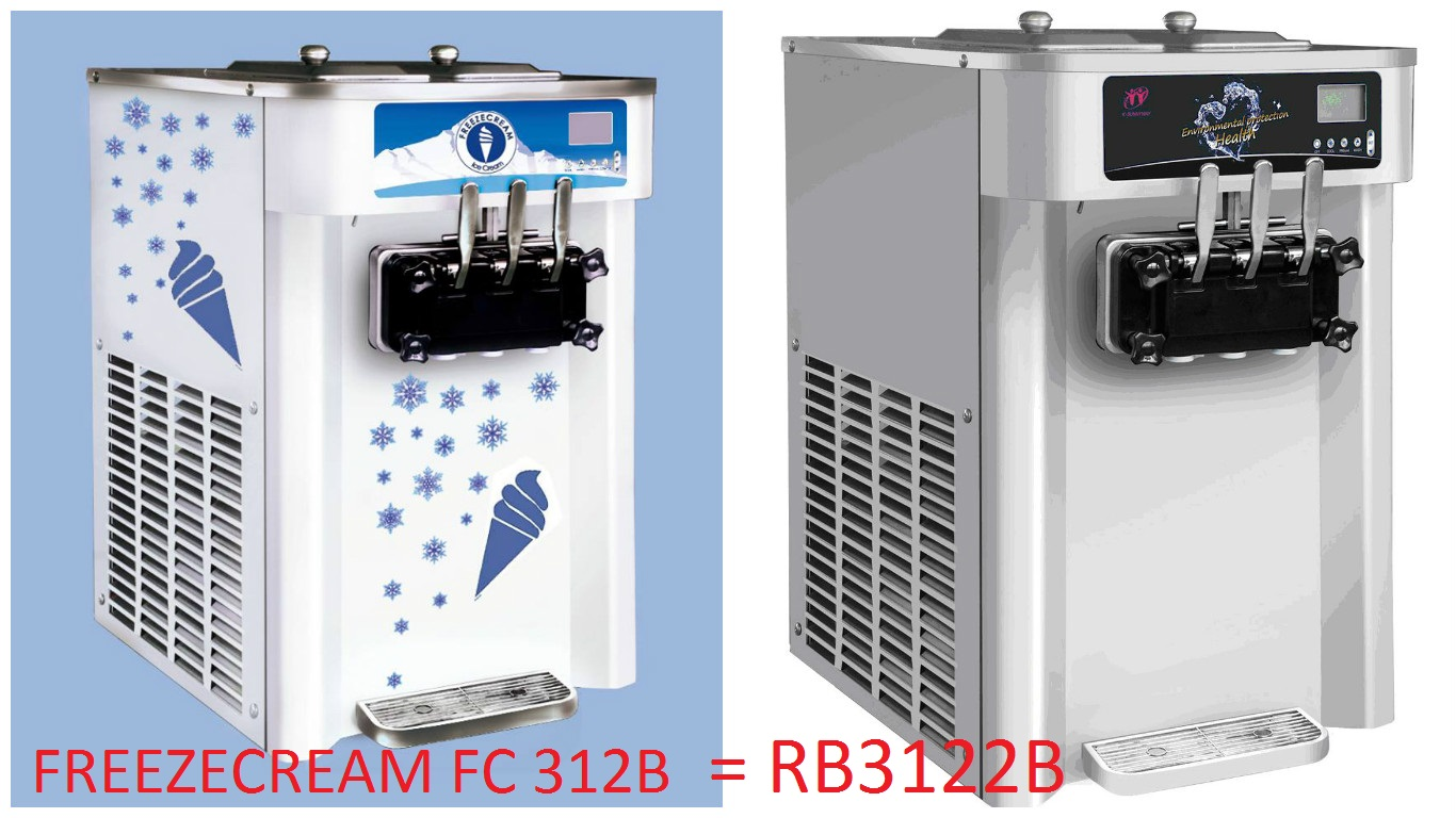 RB3122B = FREEZECREAM FC 312B