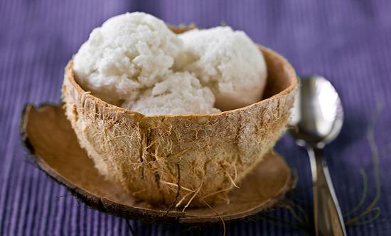 Мороженое из кокосового молока